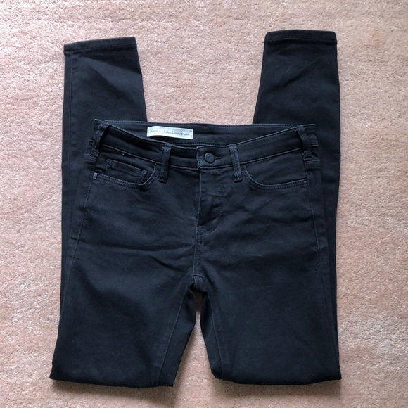 Pilcro and the Letterpress Pants - Pilcro and the Letterpress black skinny jeans
